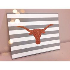 University of Texas Canvas by ThePinkTulipTX on Etsy