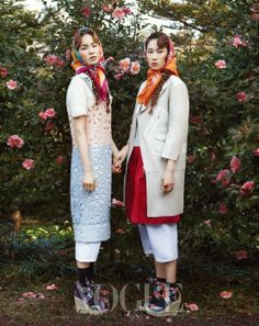 """""""Les Filles aux Camellias"""" by Bo Lee for Vogue Korea Korean Photography, Vogue Photography, Kinds Of Clothes, Clothes For Women, Fashion Beauty, Fashion Looks, Vogue Korea, Fashion Photography Inspiration, Russian Fashion"""