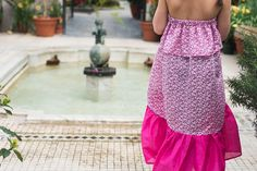 Easy Bohemian Maxi Dress DIY