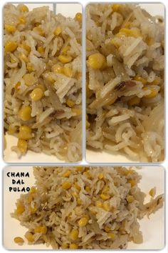 Chana dal pulao or Split Bengal gram pulao is a protein rich rice dish, easy to make and it taste very good. It goes very well with raita or yogurt (curd). Indian Food Recipes, Vegan Recipes, Cooking Recipes, Vegan Food, Lentils Protein, Rice Dishes, Bengal, Tasty, Yogurt
