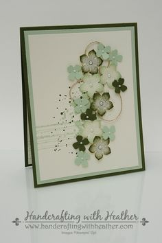 Gorgeous Grunge and Petite Petals Boxed Card Set - Stampin' Up! - Handcrafting with Heather