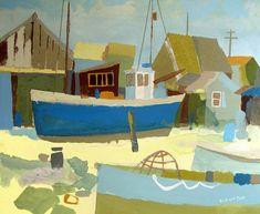 Richard Tuff artist - Paintings and Prints Boat Art, Art Folder, Inspirational Artwork, Contemporary Landscape, Artist Painting, Artist At Work, Abstract Art, Illustration Art, Gallery