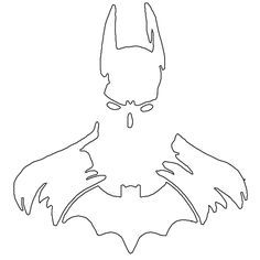 batman cake template - Google Search