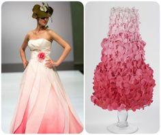 20 abiti da sposa 2014, abbinati ad altrettante torte nuziali: delizia per gli occhi e per il palato! Image: 4