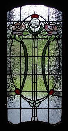 window art nouveau