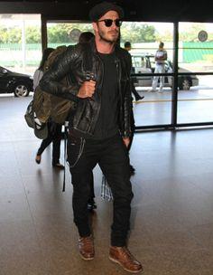 David Beckham volta para Londres mas deixa referência de estilo e comportamento no Brasil