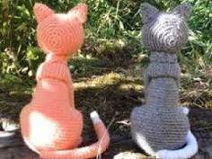 """Résultat de recherche d'images pour """"modele de chat au crochet gratuit"""""""