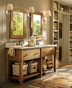 Pb Style Ideas Thi Is So Pretty What I Like The Rustic Charm Bathroom Photosbathroom Ideascountry