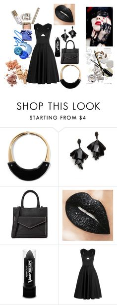 """""""Women in Black!!"""" by stylediva20 ❤ liked on Polyvore featuring Marni, Oscar de la Renta, Rebecca Minkoff, PaintGlow and Tomas Maier"""