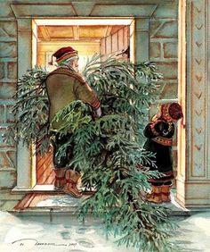 Le sapin de Noël ! the Cristmas tree !