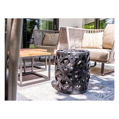 O U T D O O R  Designing outdoor spaces is just as important as the indoors. Especially for hot summer nights like today.   #interiordesign #outdoor #terrace #garden #outdoorfurniture #decoration #design #interiordecoration #instadesign #christianhantschelinteriordesign