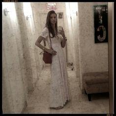Every Friday I dress in white, is the most powerful day of the week for me! A way of thanking God for all the good things in my life, and much more that still lies ahead ... Angel dress by ANAMARIA.  Todas as Sexta eu me visto de branco, é o dia mais poderoso da semana para mim! Uma forma de agradecer a Deus por todas as coisas boas da minha vida, e por muito mais que ainda estar pela frente...  Angel dress.  Me  by  Me...