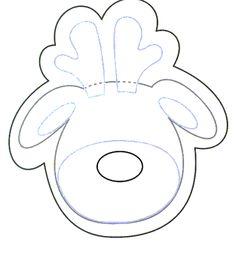 moldes de renos
