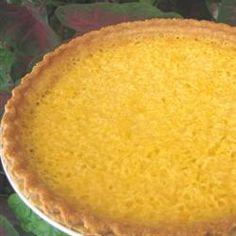 Mock Coconut Pie (Spaghetti Squash Pie) Allrecipes.com