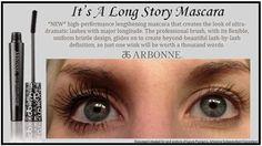 Arbonne it's a long story mascara Catalinamejia.arbonne.com