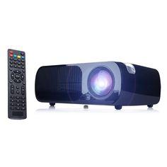 IRULU 2600 lumens LCD Home Cinema Theater Projector multimedia 1080P HDMI USB #ad