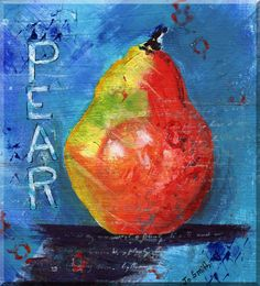 pear artwork