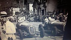 GP RIO DE JANEIRO (GAVEA) 1936 , Alfa Romeo 2900A #4 of Carlo Pintacuda and Alfa Romeo 2900A #6 of Atillio Marinoni (both of Scuderia Ferrari) on the start grid.