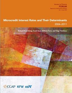 This joint paper between CGAP, KfW and MIX finds that the operating costs of MFIs remain the largest determinant of microcredit interest rates.