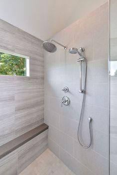36 Newest Master Bathroom Walk In Shower Design Ideas That Easy To Copy Shower Tile Designs, Walk In Shower Designs, Master Bath Shower, Master Bathroom, Bathroom Closet, Upstairs Bathrooms, Dream Bathrooms, Shower Remodel, Bath Remodel