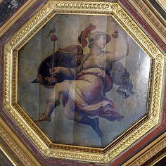 Giorgio Vasari (1511-1574), Cristoforo Gherardi e Marco da Faenza - Allegoria della pace - affresco - 1557-1558 - Firenze, Palazzo vecchio, Sala degli Elementi