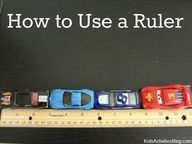 How to Use a Ruler: Teach your child how to correctly use a ruler. Check the Kids Activities Blog for more science lessons.