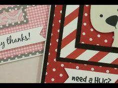 CARDZ TV CARD KIT & KABOODLE SKETCH ONE - YouTube