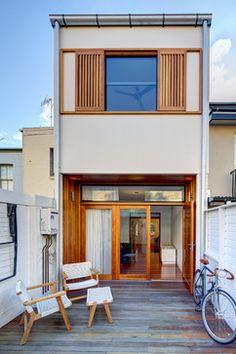 Surry Hills House - modern - exterior - sydney - Angus Mackenzie Architect