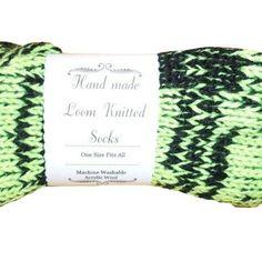 Green black #minecraft #Handmade #Retro #Socks Custom orders being taken now for #christmas Next Day Delivery www.retrosheep.com  #etsy #socks #knitterofinstagram #loveit #etsyknits