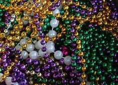 Aww, the Purple, Green & Gold. Makes me think of New Orleans!!