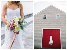Wolfe's Neck Mallet Barn Wedding || Freeport, Maine - Kivalo Photography Blog Freeport Maine, Perfect Couple, Tie The Knots, Barn, Couples, Wedding Dresses, Photography, Beautiful, Fashion