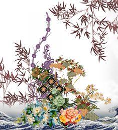 Textiles, Textile Prints, Textile Design, Paisley Art, Design Seeds, Botanical Flowers, Pattern Art, Embroidery Designs, Tapestry