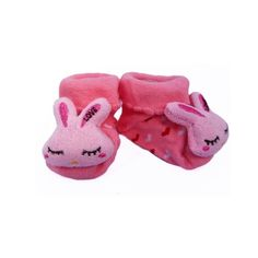 Baby Love 3d Pink Bunny Socks - purchased