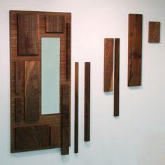 Decorar paredes con tablas de madera