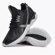 super popular 2de35 69adf adidas Shoes   Adidas Tubular Runner Sneakers   Color  Black White   Size   10.5