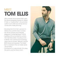 The Style of Tom Ellis - No Press | USA Network