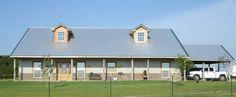 Barndominium texas, my favorite! Metal House Plans, Barn House Plans, Barn Plans, House Floor Plans, Metal Building Homes, Metal Homes, Building A House, Barn Living, Pole Barn Homes