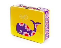 BLAFRE Whale Metal Lunch Box Tin