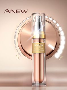 www.youravon.com/lalbrecht.Take your anti-aging routine to the next level! Introducing ANEW Power Serum! Designed to detect specific visible damage and deliver maximized results when and where you need it.