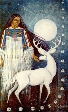 The Seneca, Roanoke, Algonquin, Nanticoke, and Pocomoke tribes all relate sightings of the Great White Deer.