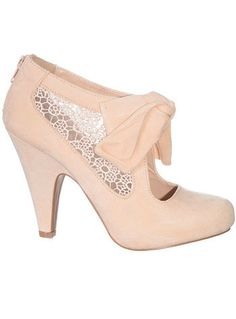 Lovely in Lace Pumps in Blush by Plasticland #shoes