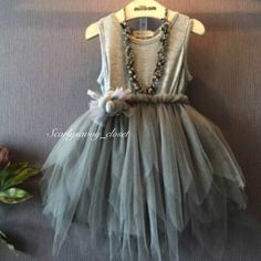 Our+Hannah+dress+is+grey+and+necklace+is+NOT+included.Ships+within+1-3+business+days