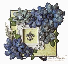 Scraps of Life: Heartfelt Creations Wednesday - Tattered Blossoms Altered Box