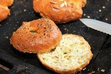 Nízkosacharidové bulky /Keto bagels/ Bezlepkový a nízkosacharidový zdravý recept /Gluten free and low carb healthy recipe/