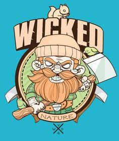 Wicked Nature! by Daniel Acosta, via Behance