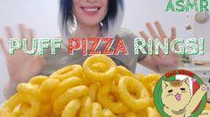 ASMR EATING PIZZA PUFFS No Talking BIG CRUNCH 音フェチ