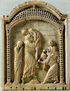 Снятие с Креста (Константинополь, Х в.) - ВИЗАНТИЯ В КАРТИНКАХ