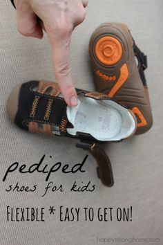 pediped shoes for kids in boys and girls styles