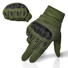 FREETOO Tactical Gloves Military Rubber Hard Knuckle Outdoor Gloves for Men Fit for Cycling Motorcycle Hiking Camping Powersports Airsoft Paintball Tactical Wear, Tactical Gloves, Tactical Clothing, Tactical Survival, Survival Gear, Workout Gloves, Brass Knuckles, Tac Gear, Tactical Equipment