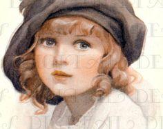 A GIGANTIC Picnic Vintage Children by DandDDigitalDelights